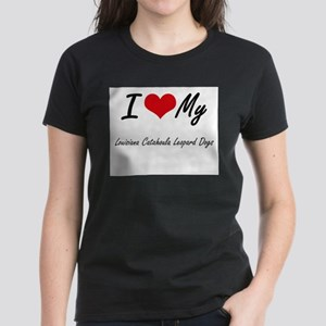 I Love my Louisiana Catahoula Leopard Dogs T-Shirt
